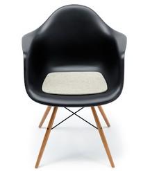 Zitkussen voor stoel arm chair van eames zitkussens for Vilt kussen eames